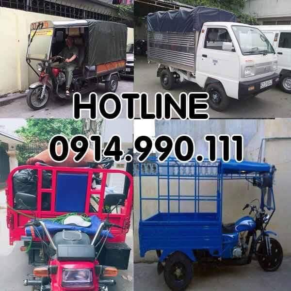 Giá thuê xe ba gác chở đồ Hà Nội