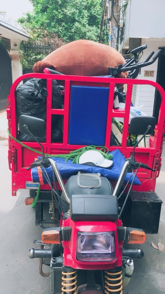 xe ba gác ở hà nội